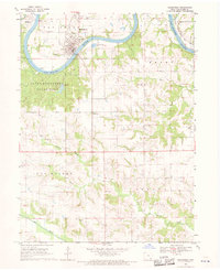 Download a high-resolution, GPS-compatible USGS topo map for Keosauqua, IA (1970 edition)
