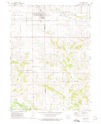 Download a high-resolution, GPS-compatible USGS topo map for Keota, IA (1975 edition)