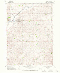 Download a high-resolution, GPS-compatible USGS topo map for Kingsley, IA (1971 edition)