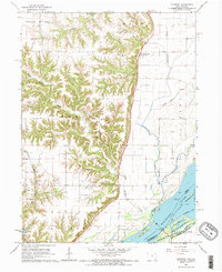 Download a high-resolution, GPS-compatible USGS topo map for Kingston, IA (1966 edition)