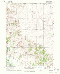 Download a high-resolution, GPS-compatible USGS topo map for Kirkville, IA (1971 edition)