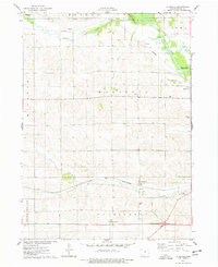 Download a high-resolution, GPS-compatible USGS topo map for La Moille, IA (1978 edition)