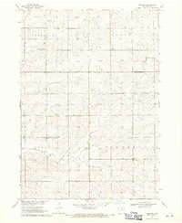 Download a high-resolution, GPS-compatible USGS topo map for Labanon, IA (1971 edition)