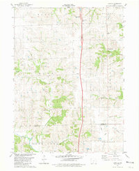 Download a high-resolution, GPS-compatible USGS topo map for Lacelle, IA (1981 edition)