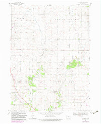 Download a high-resolution, GPS-compatible USGS topo map for Lafayette, IA (1983 edition)