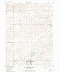 Download a high-resolution, GPS-compatible USGS topo map for Lenox, IA (1980 edition)