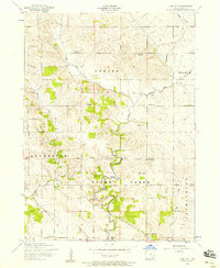 Download a high-resolution, GPS-compatible USGS topo map for Lime City, IA (1958 edition)