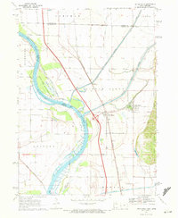 Download a high-resolution, GPS-compatible USGS topo map for Little Sioux, IA (1972 edition)