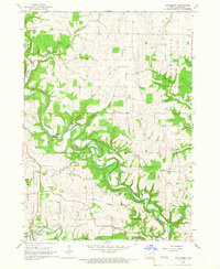 Download a high-resolution, GPS-compatible USGS topo map for Littleport, IA (1967 edition)