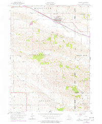 Download a high-resolution, GPS-compatible USGS topo map for Lowden, IA (1977 edition)