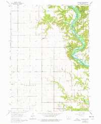 Download a high-resolution, GPS-compatible USGS topo map for Madrid NW, IA (1977 edition)