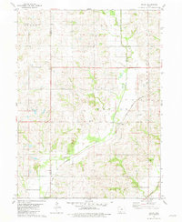 Download a high-resolution, GPS-compatible USGS topo map for Maloy, IA (1981 edition)