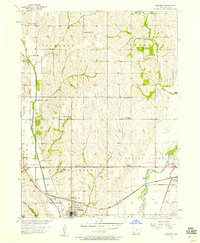 Download a high-resolution, GPS-compatible USGS topo map for Malvern, IA (1958 edition)