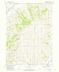 Download a high-resolution, GPS-compatible USGS topo map for Mapleton SE, IA (1973 edition)