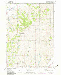 Download a high-resolution, GPS-compatible USGS topo map for Mapleton SE, IA (1983 edition)