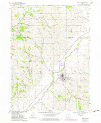 Download a high-resolution, GPS-compatible USGS topo map for Mapleton, IA (1983 edition)