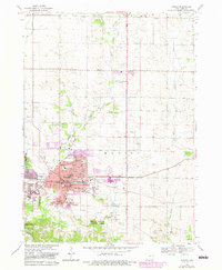 Download a high-resolution, GPS-compatible USGS topo map for Marion, IA (1983 edition)