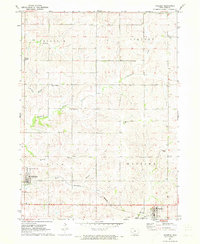 Download a high-resolution, GPS-compatible USGS topo map for Massena, IA (1973 edition)