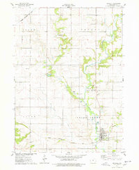 Download a high-resolution, GPS-compatible USGS topo map for Maxwell, IA (1978 edition)