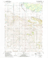 Download a high-resolution, GPS-compatible USGS topo map for Mc Causland, IA (1992 edition)
