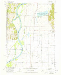 Download a high-resolution, GPS-compatible USGS topo map for Mc Paul, IA (1978 edition)