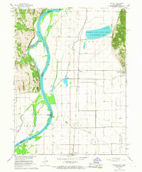 Download a high-resolution, GPS-compatible USGS topo map for Mc Paul, IA (1968 edition)
