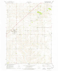 Download a high-resolution, GPS-compatible USGS topo map for Melbourne, IA (1978 edition)