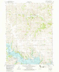 Download a high-resolution, GPS-compatible USGS topo map for Melrose, IA (1983 edition)