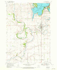 Download a high-resolution, GPS-compatible USGS topo map for Milford, IA (1972 edition)
