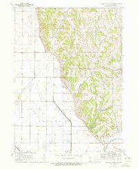 Download a high-resolution, GPS-compatible USGS topo map for Missouri Valley NW, IA (1972 edition)