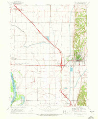 Download a high-resolution, GPS-compatible USGS topo map for Missouri Valley, IA (1972 edition)
