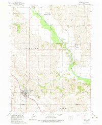 Download a high-resolution, GPS-compatible USGS topo map for Monroe, IA (1983 edition)