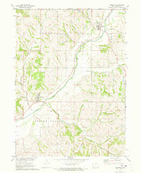 Download a high-resolution, GPS-compatible USGS topo map for Moorhead, IA (1973 edition)