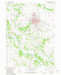 Download a high-resolution, GPS-compatible USGS topo map for Mount Pleasant, IA (1981 edition)