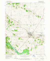 Download a high-resolution, GPS-compatible USGS topo map for Mt Vernon, IA (1967 edition)
