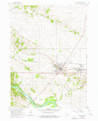Download a high-resolution, GPS-compatible USGS topo map for Mt Vernon, IA (1976 edition)