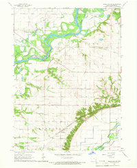 Download a high-resolution, GPS-compatible USGS topo map for Muscatine NW, IA (1966 edition)