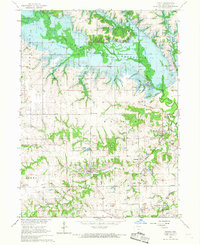 Download a high-resolution, GPS-compatible USGS topo map for Mystic, IA (1967 edition)
