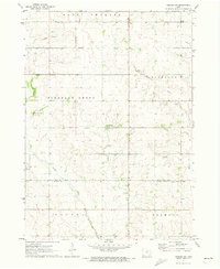 Download a high-resolution, GPS-compatible USGS topo map for Nashua NW, IA (1973 edition)