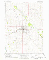Download a high-resolution, GPS-compatible USGS topo map for New Hampton, IA (1976 edition)