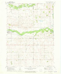 Download a high-resolution, GPS-compatible USGS topo map for New Hartford, IA (1973 edition)