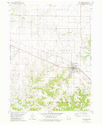 Download a high-resolution, GPS-compatible USGS topo map for New London, IA (1981 edition)