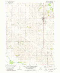 Download a high-resolution, GPS-compatible USGS topo map for New Sharon, IA (1980 edition)