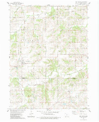 Download a high-resolution, GPS-compatible USGS topo map for New Virginia, IA (1983 edition)