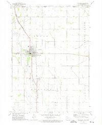 Download a high-resolution, GPS-compatible USGS topo map for Northwood, IA (1975 edition)