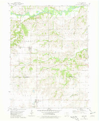 Download a high-resolution, GPS-compatible USGS topo map for Ollie, IA (1981 edition)