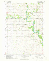 Download a high-resolution, GPS-compatible USGS topo map for Orchard, IA (1973 edition)
