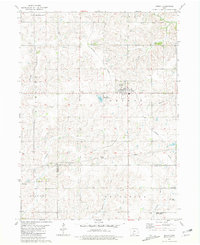 Download a high-resolution, GPS-compatible USGS topo map for Orient, IA (1981 edition)