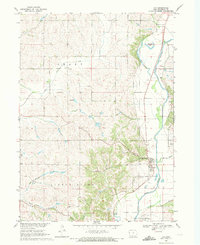 Download a high-resolution, GPS-compatible USGS topo map for Oto, IA (1971 edition)
