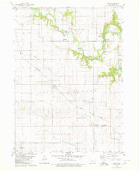 Download a high-resolution, GPS-compatible USGS topo map for Owasa, IA (1980 edition)